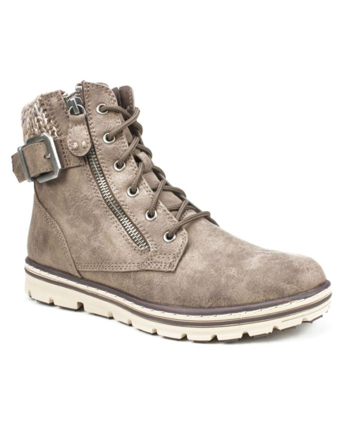 Cliffs by White Mountain Women's Kelsie Lace-Up Bootie & Reviews - Boots - Shoes - Macy's