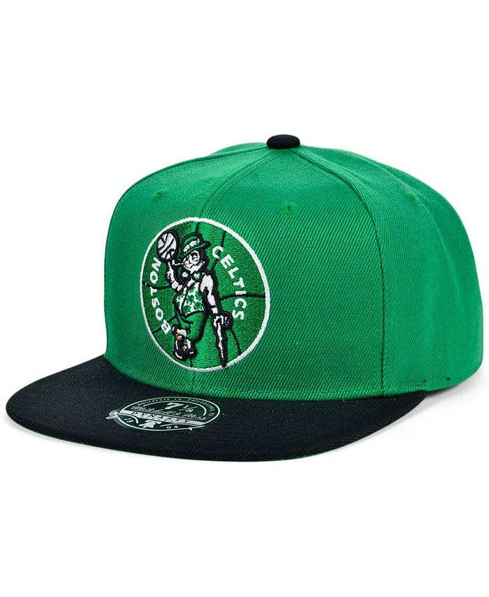 Mitchell & Ness - Boston Celtics Wool 2 Tone Fitted Cap