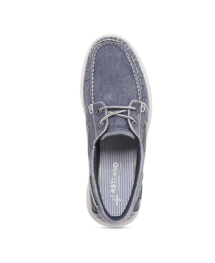 Eastland Shoe Men's Hayden Canvas Boat Shoe & Reviews - All Men's Shoes - Men - Macy's