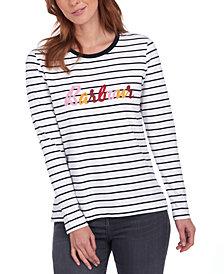 Barbour Kielder Cotton Striped T-Shirt