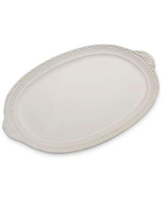 Mikasa Italian Countryside Handled Oval Platter