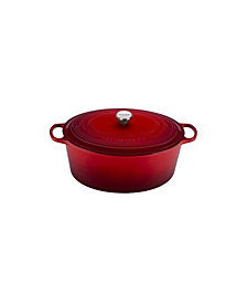 Le Creuset 15.5-Qt. Signature Enameled Cast Iron Oval Dutch Oven