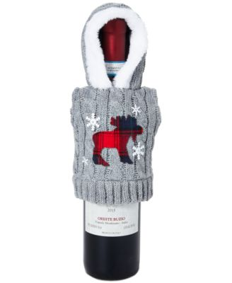 Chalet You Stay, Hoodie Sweater Bottle Cover, Created for Macy's
