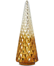 Martha Stewart Collection Gilded Age Textured Ombré Table-Top Tree, Created for Macy's