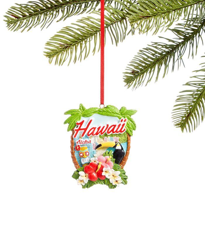 Holiday Lane - Hawaii Aloha Ornament