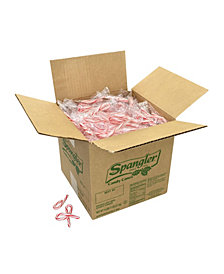 Spangler Individually Wrapped Mini Peppermint Candy Canes Bulk, 500 Count