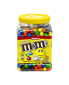 M&M's Milk Chocolate Peanut Candies Jar, 62 oz