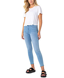 Celebrity Pink Juniors' Curvy Mid-Rise Skinny Jeans