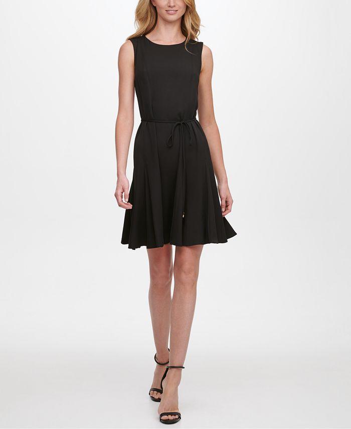 Tommy Hilfiger - Belted A-Line Dress