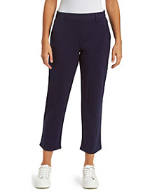 Gloria Vanderbilt Women's Pull On Crop Ponte Pant