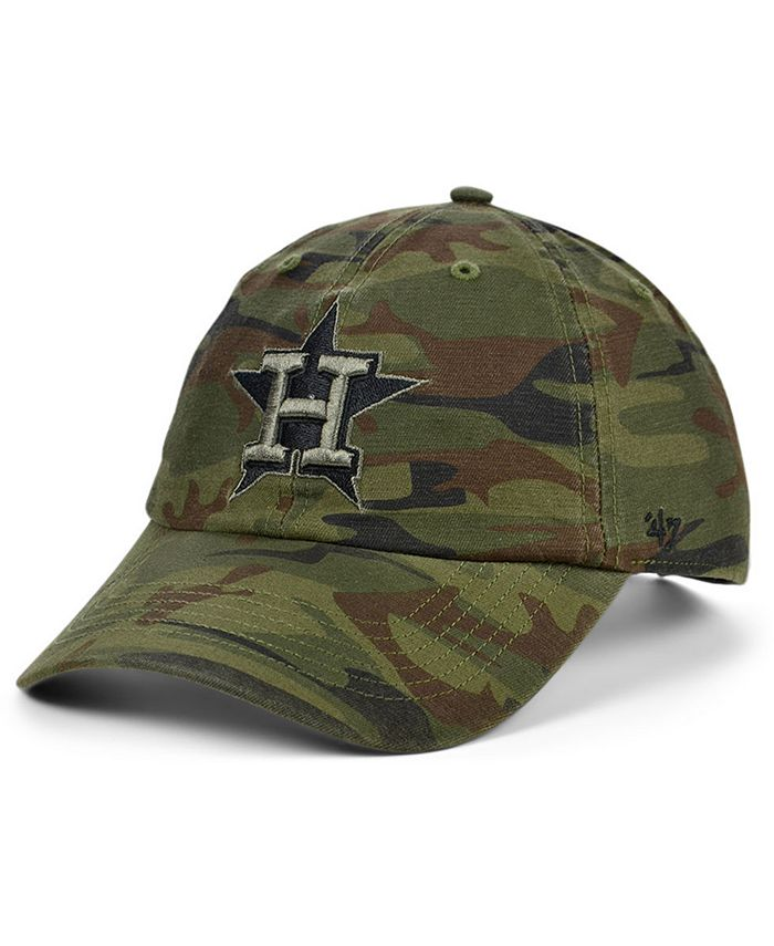'47 Brand - Houston Astros Regiment CLEAN UP Cap