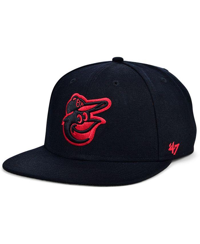 '47 Brand - Baltimore Orioles Bright Red Shot Snapback Cap
