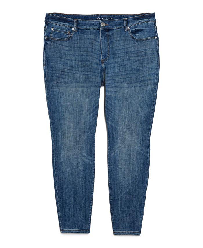INC International Concepts - Plus Size INCEssentials Madison Skinny Jeans