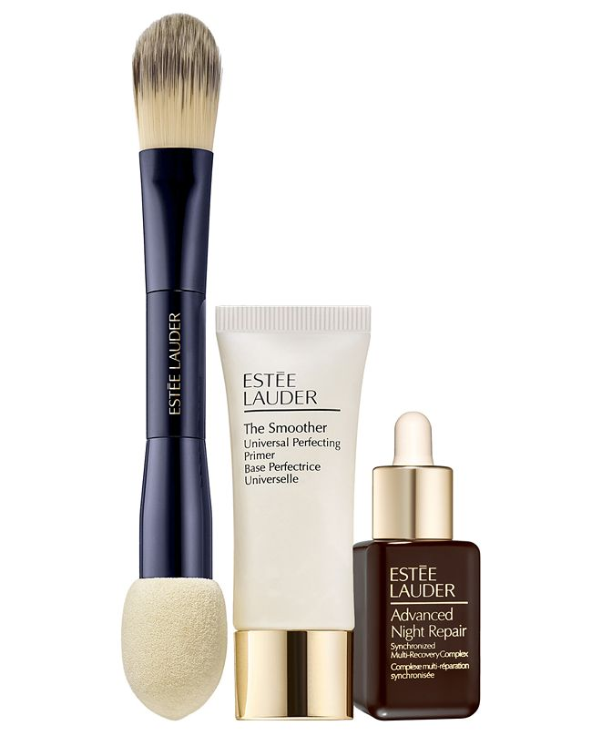Estee Lauder 3-Pc. Foundation Set - Only $11 with any Double Wear Stay-in-Place Foundation Purchase (A $76 Value!)