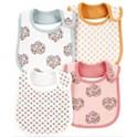 4-Pack Carter's Baby Girl Floral Teething Bibs