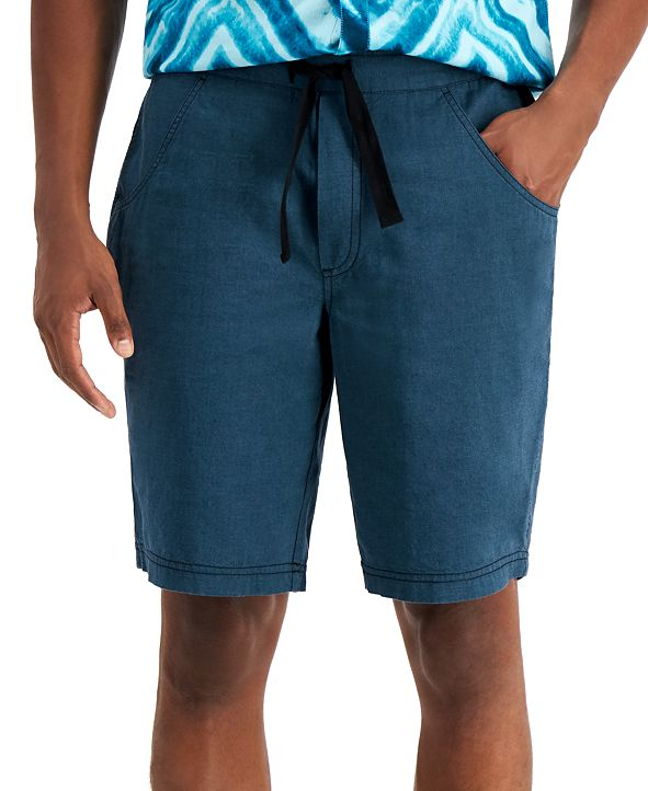 INC International Concepts INC Men's Regular-Fit Drawstring Shorts, Created for Macy's