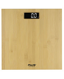American Weigh Scales LCD Bathroom Scale
