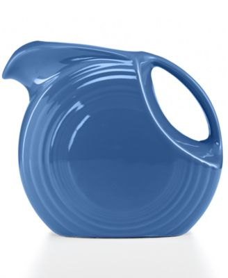 Fiesta Lapis 67.75-oz. Large Disk Pitcher