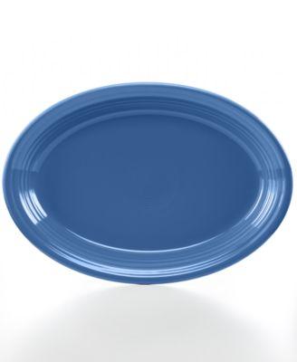 "Fiesta Lapis 13"" Oval Platter"