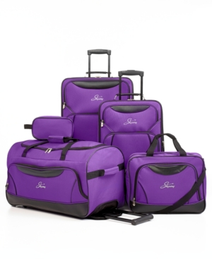 skyway freedom 5 piece spinner luggage set