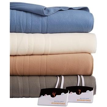 Biddeford Comfort Knit Fleece Electric Twin Blanket