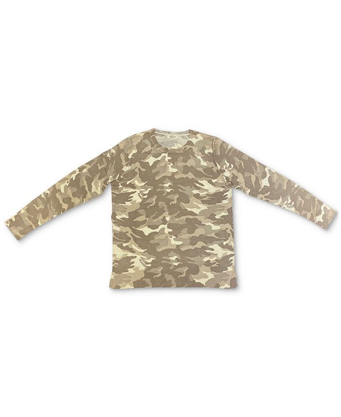 Style & Co - Camo-Print Pullover Sweater