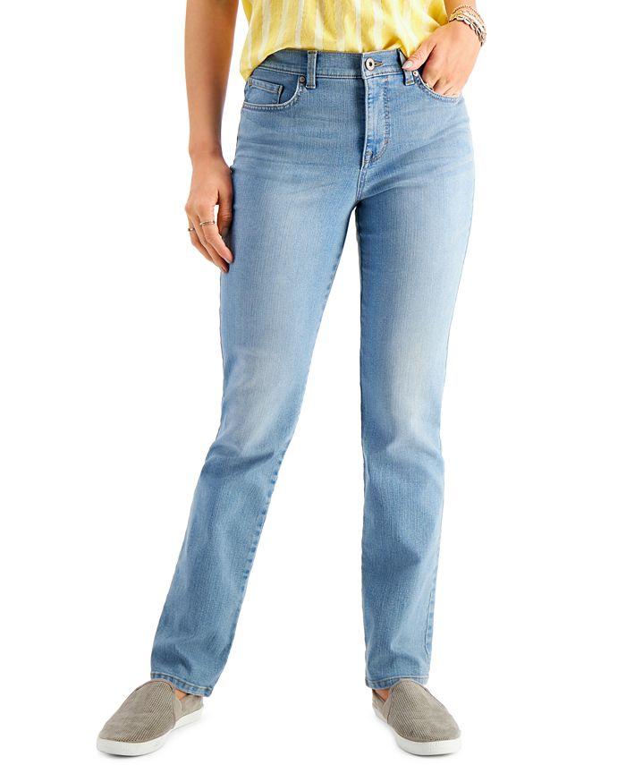 Style & Co - Plus Size Straight-Leg Jeans