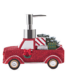 Décor Studio Truck Holiday Lotion Pump