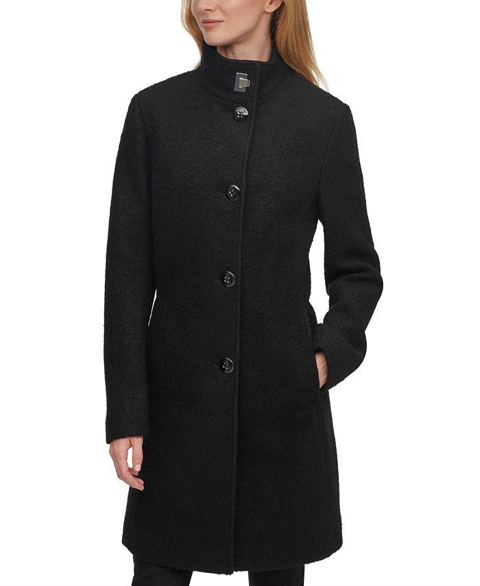 Calvin Klein - Stand-Collar Walker Coat