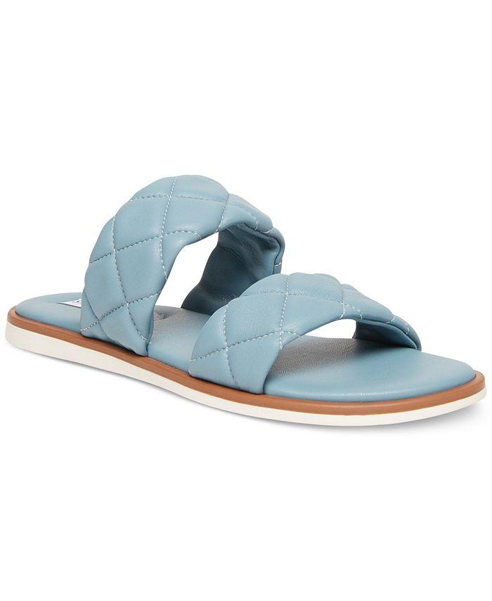 Steve Madden - Women's Orsa Quilted Slide Sandals