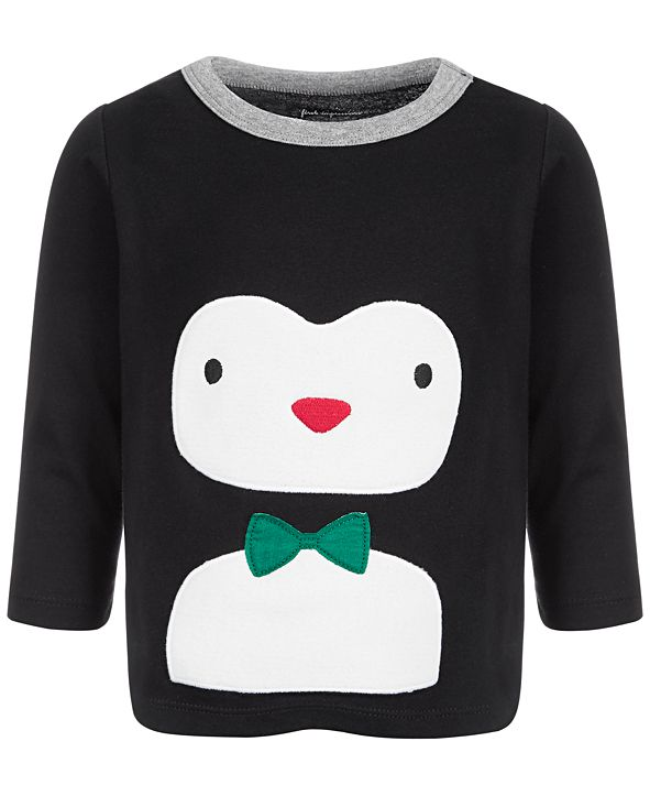 First Impressions Baby Boys Penguin T-Shirt, Created for Macy's