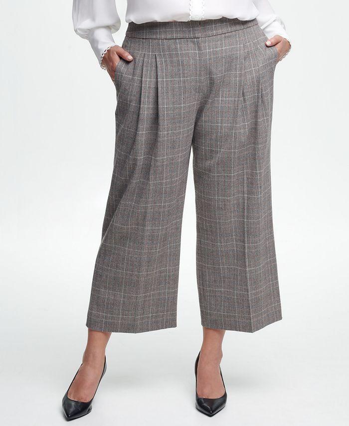Calvin Klein - Plus Size Cropped Pants