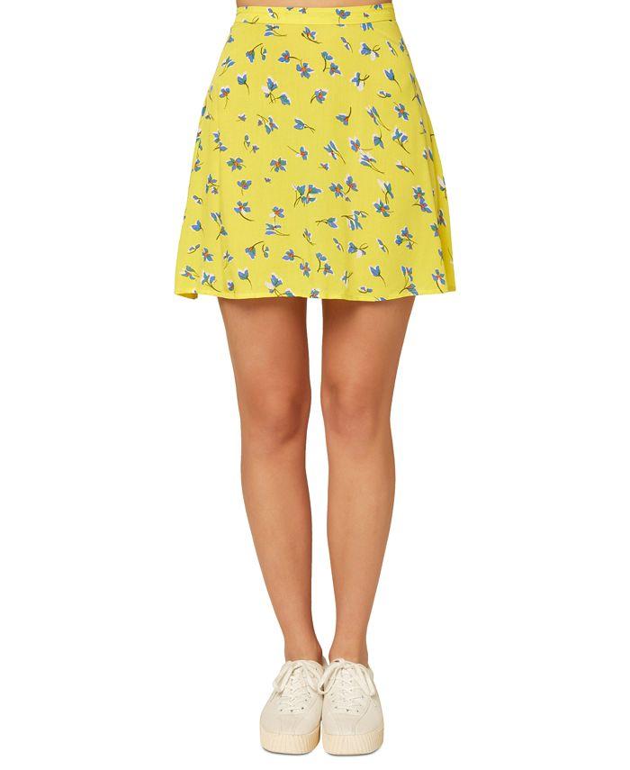O'Neill - Juniors' Sindra Floral-Print Skirt