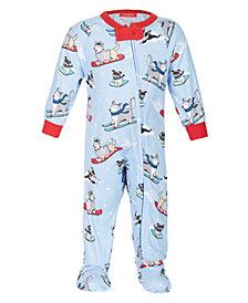 Matching Baby Santa Paws Family Pajamas, Created for Macy's