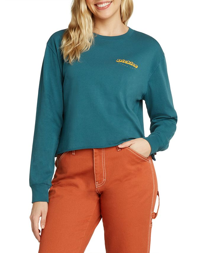 Dickies - Cropped Cotton Logo Top