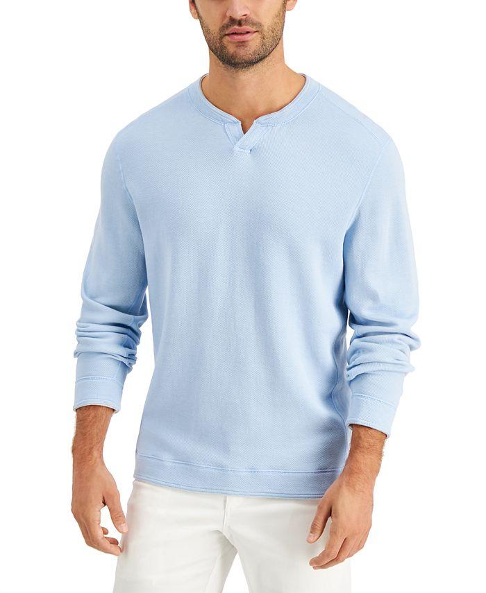 Tommy Bahama - Men's Flipshore Abaco Reversible Split-Neck Sweatshirt