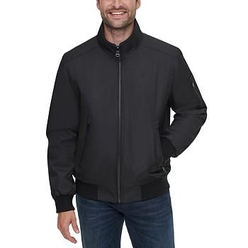 Calvin Klein Men's Classic Ripstop Full-Zip Bomber Jacket