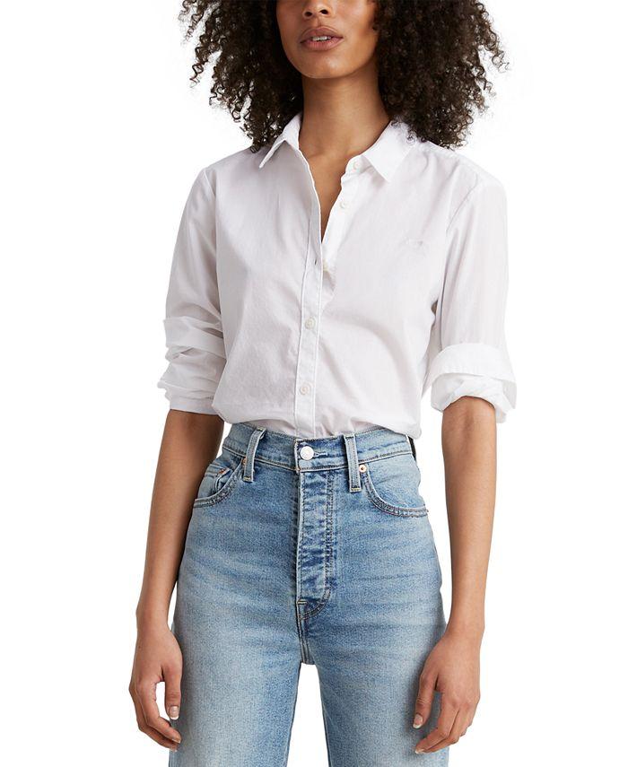 Levi's - Cotton Button-Front Shirt