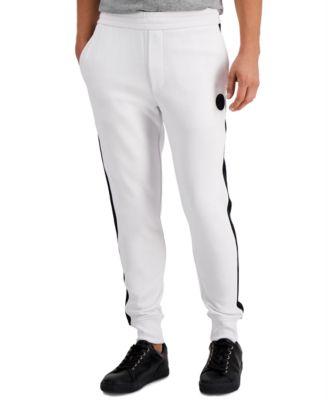 Men's Logo Fleece Track Pants, Created for Macy's