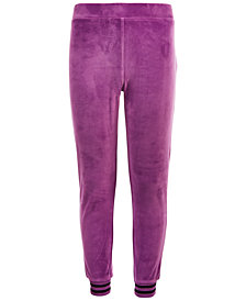 Ideology Big Girls Velour Joggers, Created for Macy's