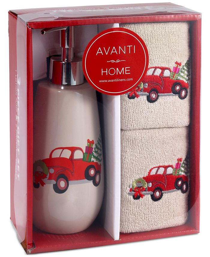 Avanti - Holiday Truck 3-Pc. Bath Box Set