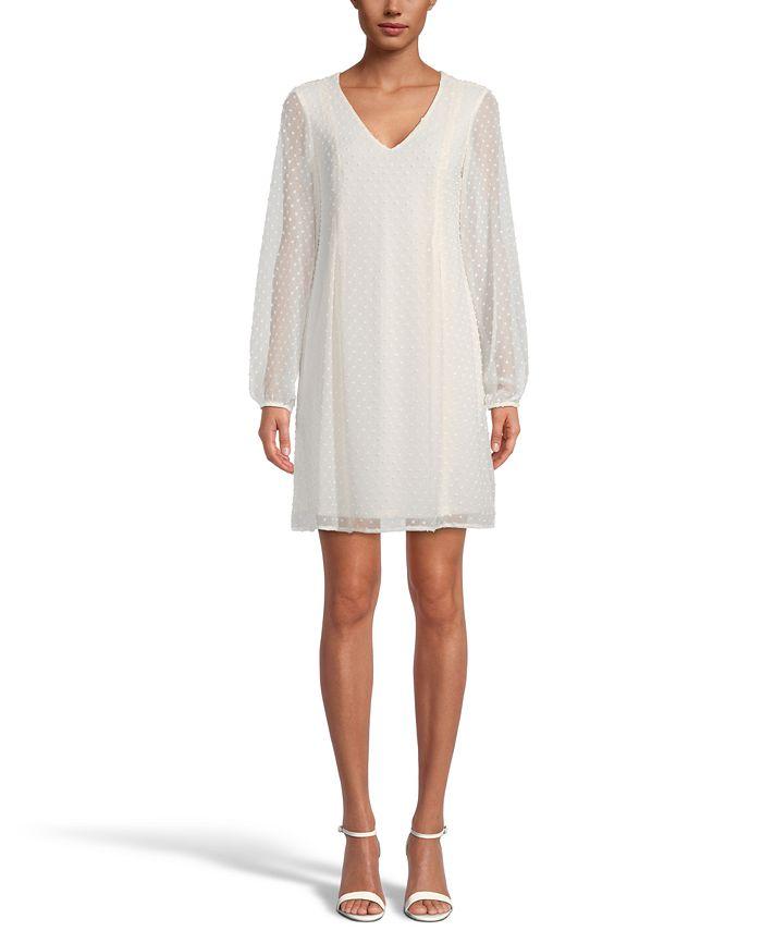Inc International Concepts Inc Bow Back Clip Dot Shift Dress Created For Macy S Reviews Dresses Women Macy S