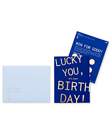 LottoLove Clean Water with Birthday Card