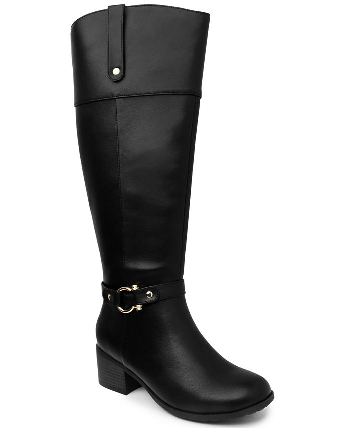 Karen Scott - Vickyy Wide-Calf Riding Boots