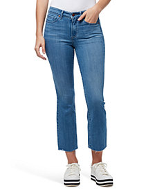 WILLIAM RAST Mid-Rise Cropped Bootcut Jeans