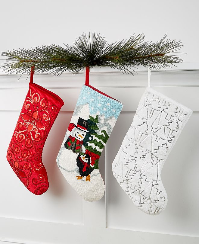 Holiday Lane Stocking Collection, Created for Macy's