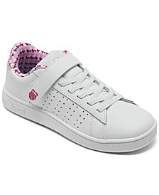 K-Swiss Little Girls Court Casper Casual Sneakers from Finish Line