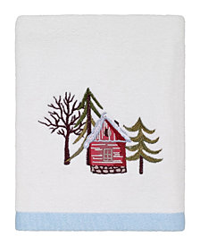 Avanti Christmas Village Hand Towel