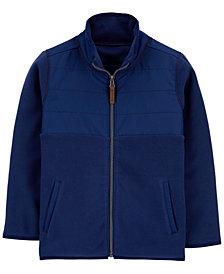 Carter's Big Boy Zip-Up Fleece Jacket