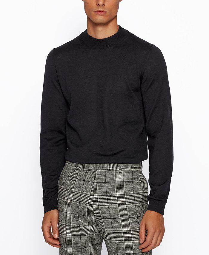Hugo Boss - Men's Bjarno Slim-Fit Sweater